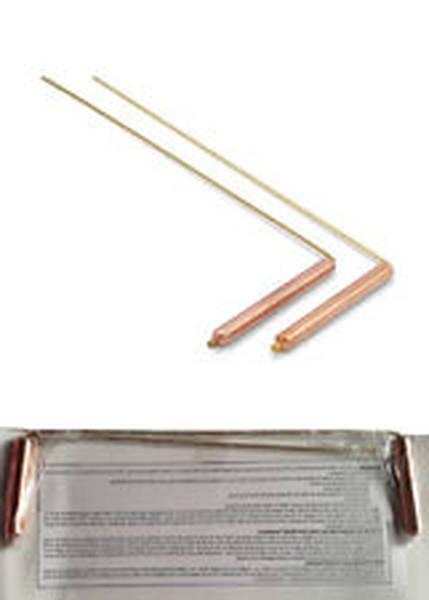 radiesthésie pendule en cuivre